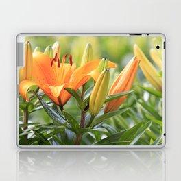 Orange Lily Laptop & iPad Skin