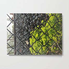 By the Railroad Metal Print
