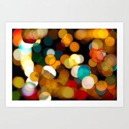 light blur Art Print