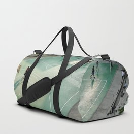 field and basketball players Duffle Bag