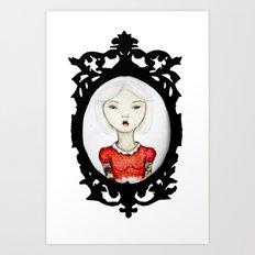 Just a portrait Art Print