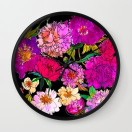 Petal Power Wall Clock