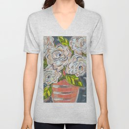 Alba in the Moonlight Unisex V-Neck