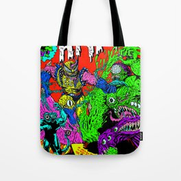MONSTER FIGHT Tote Bag