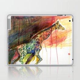 Galloping Giraffe Laptop & iPad Skin
