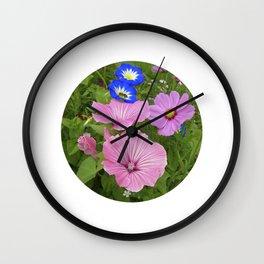 flower garden IV Wall Clock
