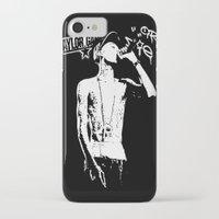 wiz khalifa iPhone & iPod Cases featuring Wiz Khalifa by JuceOcean