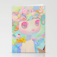 sunshine Stationery Cards featuring Sunshine by So Youn Lee