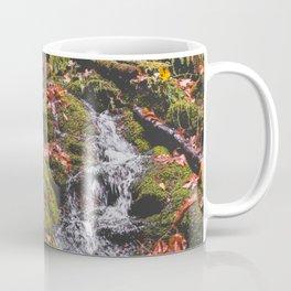 PNW Fall Waterfall Coffee Mug