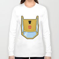 transformers Long Sleeve T-shirts featuring Transformers - Sunstreaker by CaptainLaserBeam