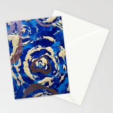 Frozen Droplets Stationery Cards