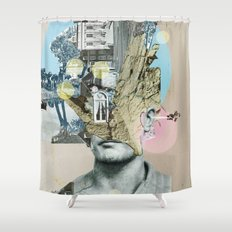 it´s all in your mind · Statue Shower Curtain