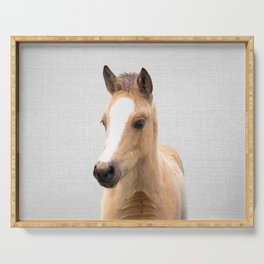 Baby Horse - Colorful Serving Tray