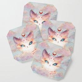 Stargazer Cat : Vision Seeker Coaster