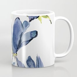 Blue Flowers 3 Coffee Mug
