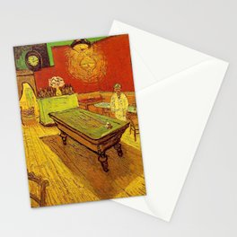 THE NIGHT CAFE - VINCENT VAN GOGH Stationery Cards
