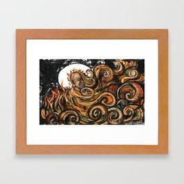 Thích Quảng Đức Framed Art Print