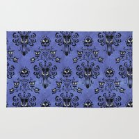 haunted mansion Area & Throw Rugs featuring Haunted Mansion  by Katikut