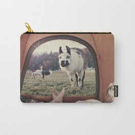 ALPACA  - CAMPING WITH FRIENDS Carry-All Pouch