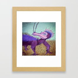 He Carried Them Out of the Sea Framed Art Print