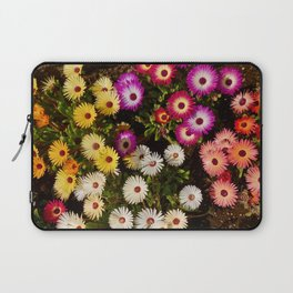 Rainbow Flowers Laptop Sleeve