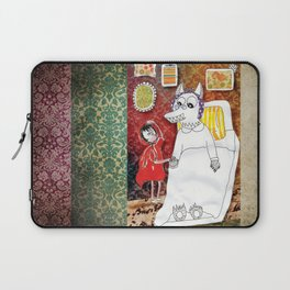 Girl & Wolf Laptop Sleeve