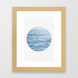 Oblò: Oh, the Sea! Framed Art Print