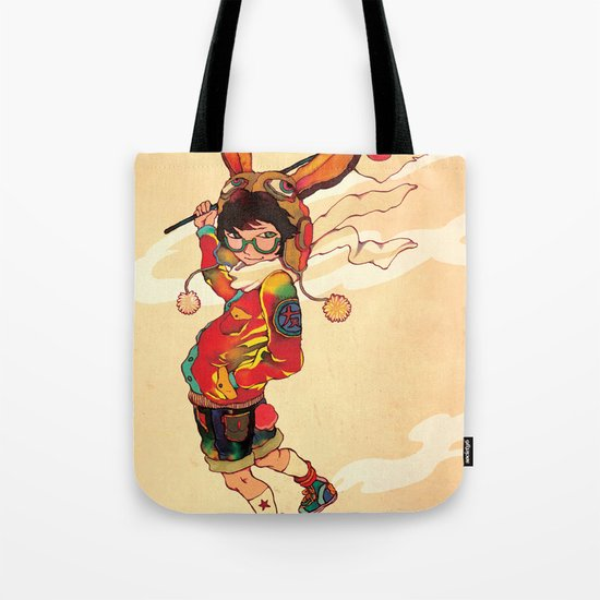 The land of the rising zine Tote Bag