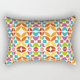 Geometric n1r Rectangular Pillow