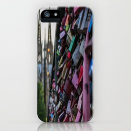 Lovelocks and Cathedral iPhone Case
