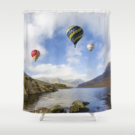 Lake Flight Shower Curtain
