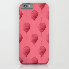 Balloons Watercolor Pattern Slim Case iPhone 6s
