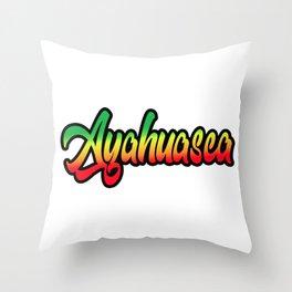 ayahuasca Throw Pillow