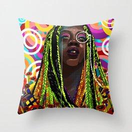 STEREOTYPES 2: Ghetto Until Proven Fashionable Throw Pillow