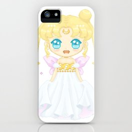 Serenity Pixel Doll iPhone Case