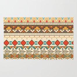 Aztec pattern 03 Rug