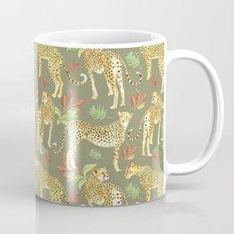 Cheetah Clearing Coffee Mug