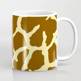Giraffe Print Coffee Mug