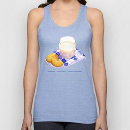 Milk & Cookies Unisex Tank Top