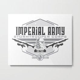 Imperial Army Metal Print