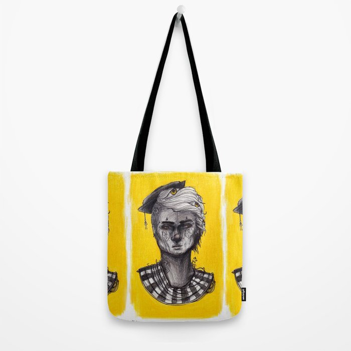 Seen in Yellow Tote Bag
