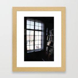 Window light Framed Art Print