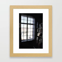 Window light Framed Art Print