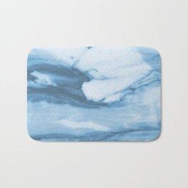 Marble Blue Ocean Bath Mat