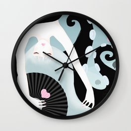 Your l♥ve under the sea Wall Clock