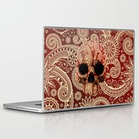 paisley Laptop & iPad Skins featuring Paisley by Steve Mac