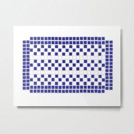 tile work Metal Print