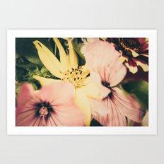 Flower bouquet... Art Print