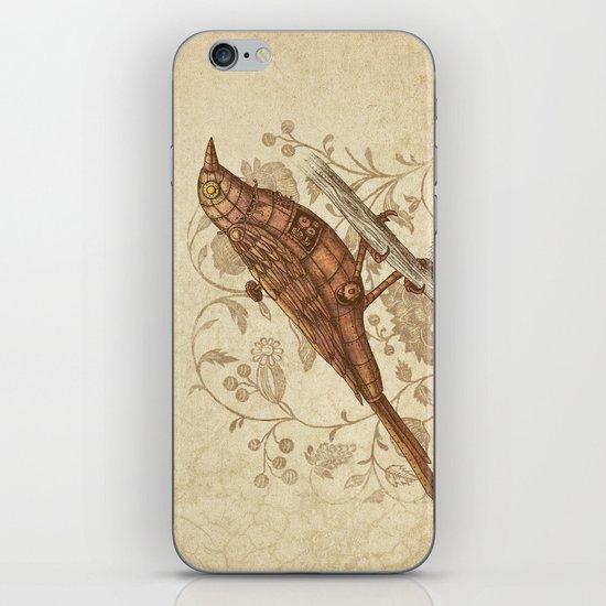 Steampunk Songbird  iPhone & iPod Skin