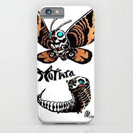 Mothra Kaiju Print iPhone Case